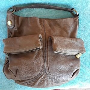 Cynthia Rowley genuine leather shoulder bag